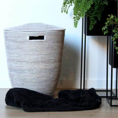 Rattan Laundry Basket